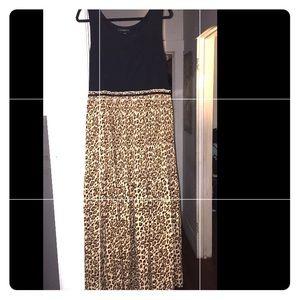 Lane Bryant Leopard Print dress